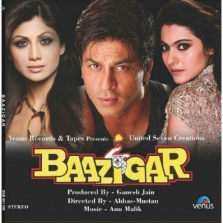 Baazigar - SVR 001 VW - Cover Book Fold - LP Record