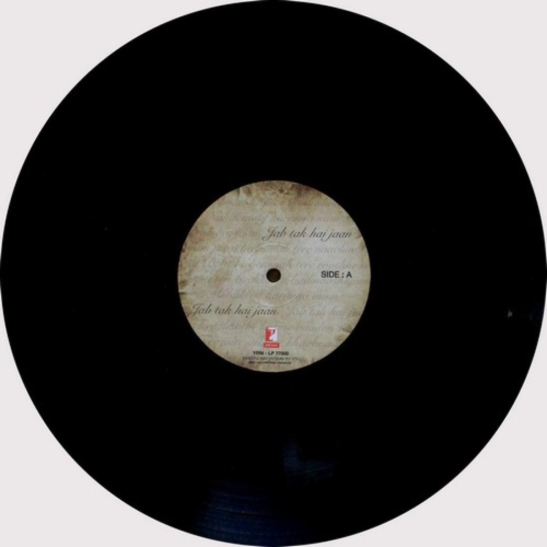 Jab Tak Hai Jaan - 8902797770000 - Cover Book Fold - LP Record