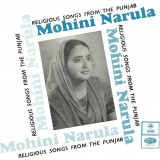 Mohini Narula - Religious Songs From The Punjab - EMOE 10507 - Reprinted LP Cover Only