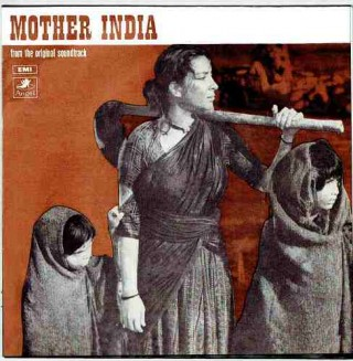 Mother India - Cover Colour PhotoState - TAE 1356 - Reprinted LP Cover Only