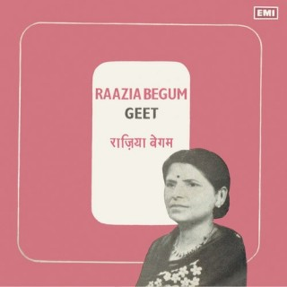 Raazia Begum (Geet) - 7EPE 17580 - Reprinted EP Cover Only