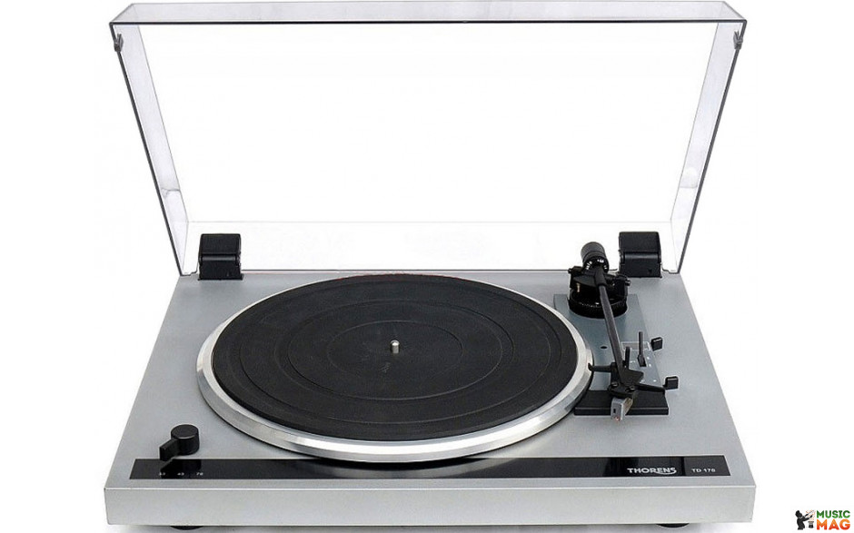 Thorens - Fully Automatic Turntable - TD 170 EV  - Turntable Silver