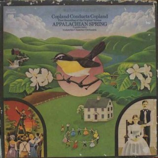 Appalachian Spring - Copland Conducts Copland - M 32736 - LP Record - (With Free EP Record)