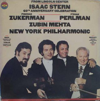 Isaac Stern 60th Anniversary Celebration - M 37244 - LP Record