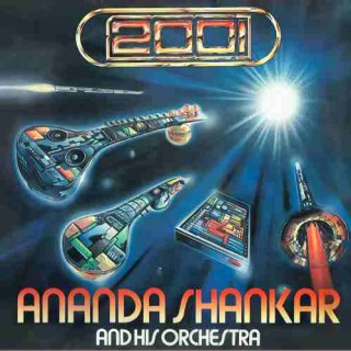 Ananda Shankar And His Orchestra (2001) - ECSD 41539 - (Condition 80-85%) - Cover Reprinted - LP Record