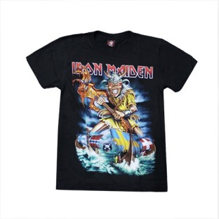 Iron Maiden T'Shirt Music - (100% Cotton) - TS107 - Size - SMALL