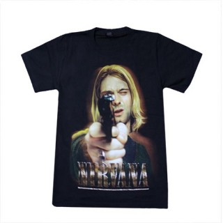 Nirvana T'Shirt Music - (100% Cotton) - TS112 - Size - SMALL