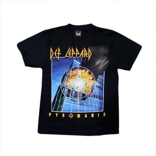 Def Leppard - Pyromania T'Shirt Music - (100% Cotton) - TS114  - Size - SMALL
