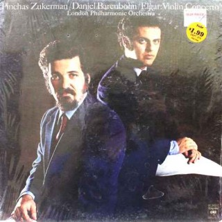 Pinchas Zukerman / Daniel Barenboim / Elgar: Violin Concerto - London Philharmonic Orchestra - M 34517 - LP Record