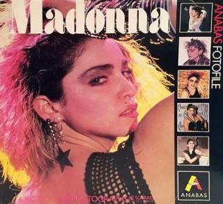 """Madonna - Anabas Fotofile 1985 USA - 6 Big Colour Photographs - (12"""" Square)"""