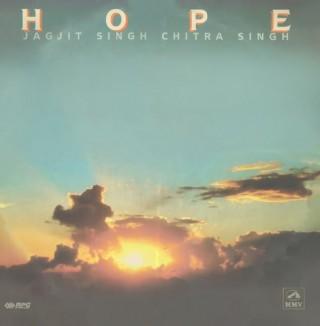 Jagjit Singh & Chitra Singh - Hope - PSLP 3134 - LP Reprinted Cover