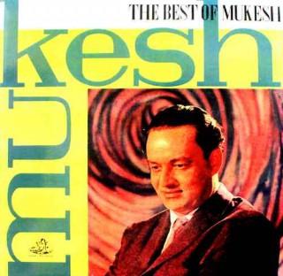 Mukesh - The Best Of Mukesh - 3AEX 5014 - Laminated LP Cover