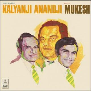 Kalyanji Anandji Present Mukesh - MOCE 4035 - Reprinted LP Cover Only