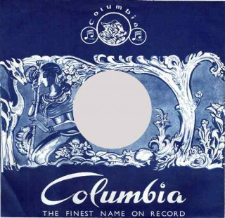 78 RPM Columbia Blue Cover - 100 Pieces