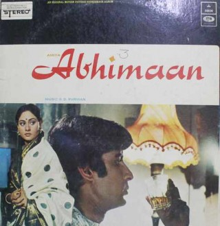 Abhimaan -D/MOCE 4183 - (Condition -75-80%) - Odeon First Pressing - LP Record