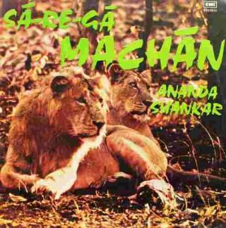 Ananda Shankar - (Sa - Re - Ga - Machan) - ECSD 2636 - (Condition 85-90%) - LP Record