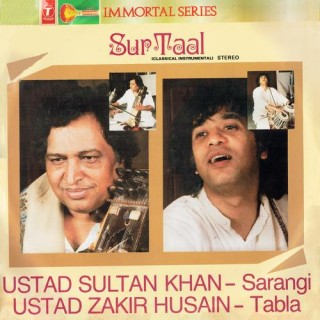 Zakir Hussain & Sultan Khan - Sur Taal - SICLP 01/13 - Cover Reprinted - LP Record