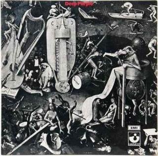 Deep Purple - Deep Purple - SHVL 759 - Cover Book Fold - LP Record