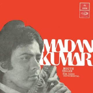 Madan Kumar Mouth Organ Film Tunes - EMOE 2368 - Cover Reprinted - EP Record