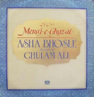 Asha Bhosle & Ghulam Ali - Meraj-E-Ghazal - ECSD 2926/27 - 2 LP Set