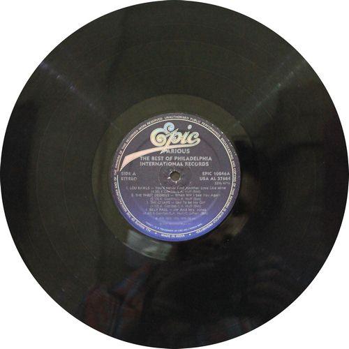 The Best Of Philadelphia International Rercords - EPIC 10046 - LP Record
