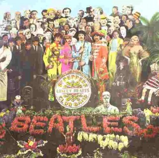 The Beatles - Sgt Peppers Lonely Heart - PCS 7027 - LP Record