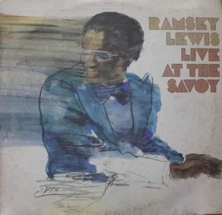 Ramsey lewis Live At The Savoy - CBS 10065 - LP Record