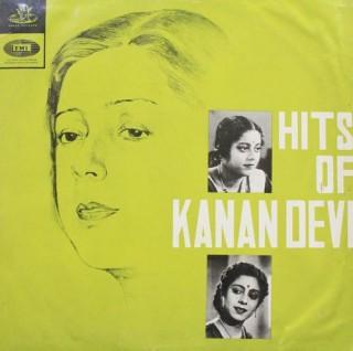 Kanan Devi Hits Of -  EAHA 1005 - LP Record