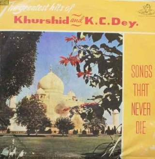Khurshid And K.C.Dey - 3AEX 5010 - Angel first pressing -  LP Record