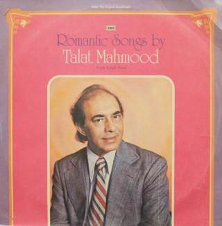 Talat Mahmood - Romantic Songs - ECLP 5601 - LP Record