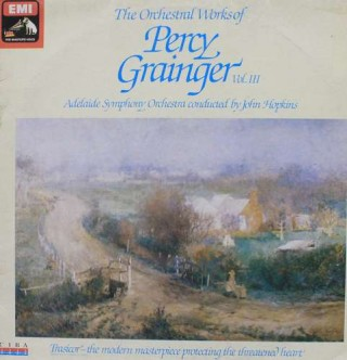 The Orchestral Works Of Percy Grainger Vol. lll - OASD 7607 - LP Record