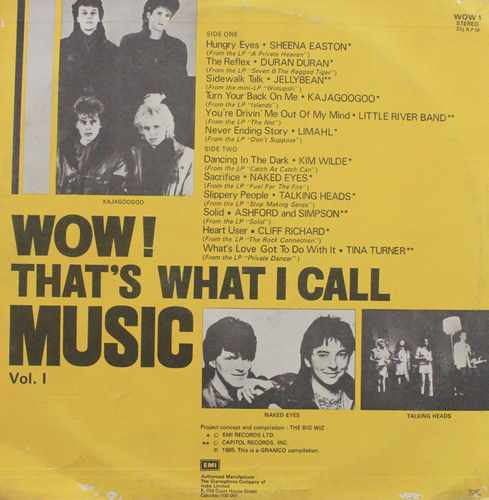 Wow! That's What I Call Music Vol. 1 - WOW 1 - LP Record