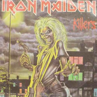 Iron Maiden Killers - EMC 3357 - LP Record