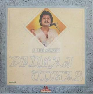 Pankaj Udhas A Live Concert - 2393 953 - LP Record