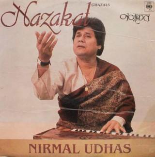 Nirmal Udhas - Nazakat Ghazals - IND 1117 - LP Record