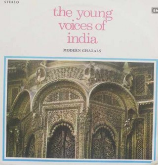 The Young Voices Of India Modern Ghazals -  EMGE 12502 - LP Record