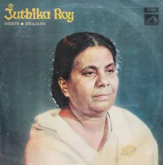 Juthika Roy - Geets & Bhajans - ECLP 2513 - LP Record