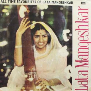 Lata Mangeshkar All Time Favourites Of - 3AEX 5013 - (Condition 90-95%) - Angel First Pressing - LP Record