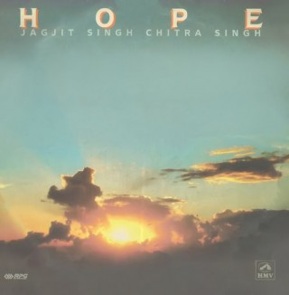 Jagjit Singh & Chitra Singh - Hope - PSLP 3134 - (Condition - 90-95%) - Cover Reprinted - LP Record