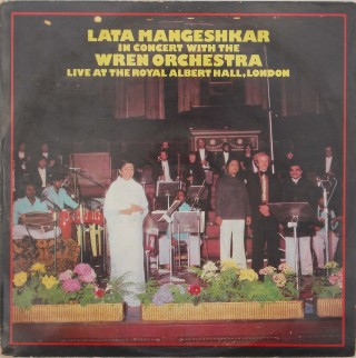 Lata Mangeshkar - (In Concert With The Wren Orchestra) - PEASD 2027 - ( Condition - 80-85%) - LP Record