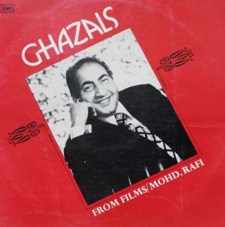 Mohd. Rafi Ghazals From Films - 3AEX 5029 - (Condition 85-90%) - LP Record
