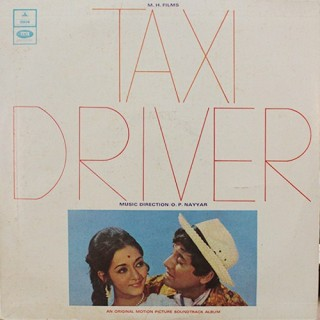 Taxi Driver - MOCE 4167 - Odeon First Pressing - LP Record