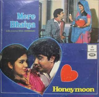 Mere Bhaiya & Honeymoon - MOCE 4153 - Odeon First Pressing - LP Record