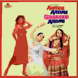 Ameer Aadmi Ghareeb Aadmi - 2392 461 - (Condition 85-90%) - LP Record