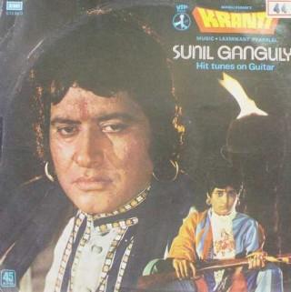 Sunil Ganguli (Hit Tunes On Guitar From Kranti) - S/45 NLP 2040 - LP record