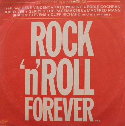 Rock 'N' Roll Forever Vol. 2 - RNR 2 - LP Record