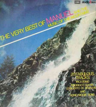 Manuel And The Music Of The Mountains - The Very Best Of Manuel - TWOX 1051 - LP Record