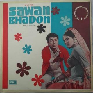 Sawan Bhadon - ECLP 5415 - Cover Good Condition - LP Record
