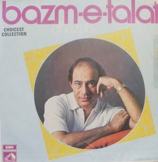 Talat Mahmood Bazm E Talat - D/ECLP 2727  - HMV Colour Label