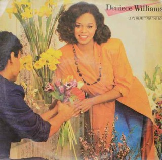 Deniece Williams Let's Hear It For The Boy - CBS 10164 - LP Record